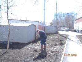 Субботник весна 2018